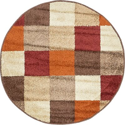 Christie Multi Area Rug Rug Size: Round 33