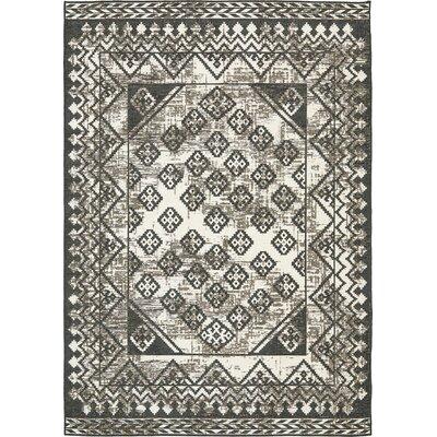 Bhakta Gray Area Rug Rug Size: 910 x 13