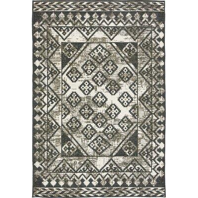 Bhakta Gray Area Rug Rug Size: 7 x 10