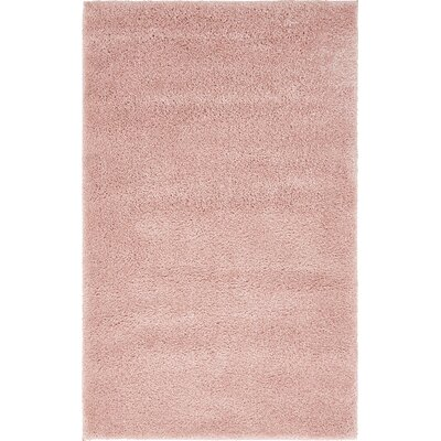 Sydnee Pink Area Rug Rug Size: Rectangle 22 x 3