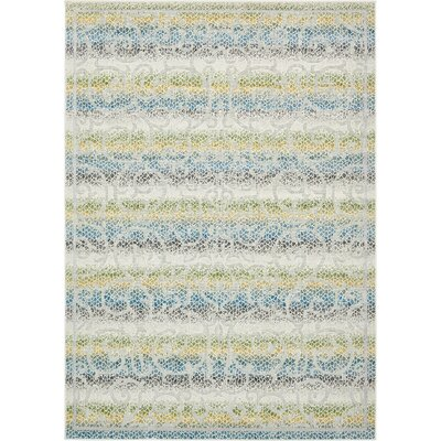Akin Cream Indoor/Outdoor Area Rug Rug Size: 7 x 10