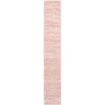 Sydnee Pink Area Rug Rug Size: Runner 22 x 13