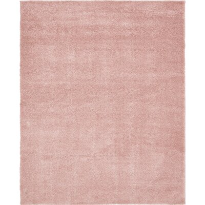 Sydnee Pink Area Rug Rug Size: Rectangle 10 x 13