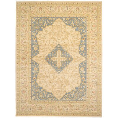 Willow Cream Area Rug Rug Size: 9 x 12