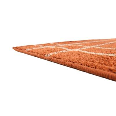 Bryan Terracotta Area Rug Rug Size: 8 x 10