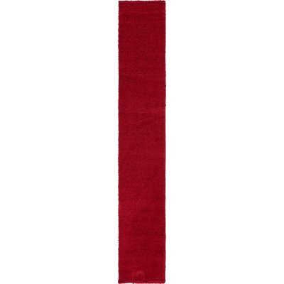 Sydnee Red Area Rug Rug Size: Runner 22 x 13