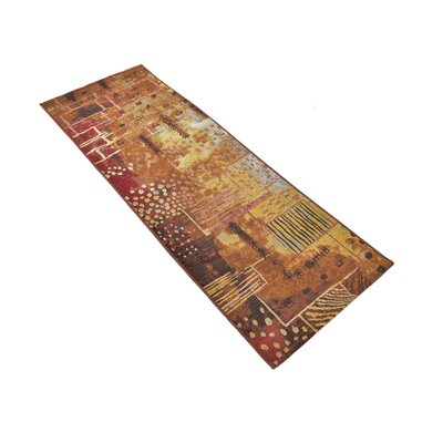 Jamie Orange Indoor/Outdoor Area Rug Rug Size: Runner 2 x 6