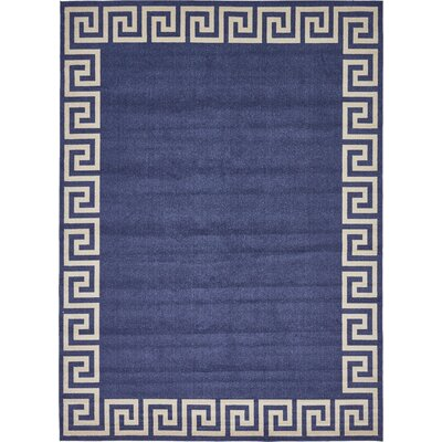 Cendrillon Blue Area Rug Rug Size: Rectangle 10 x 13