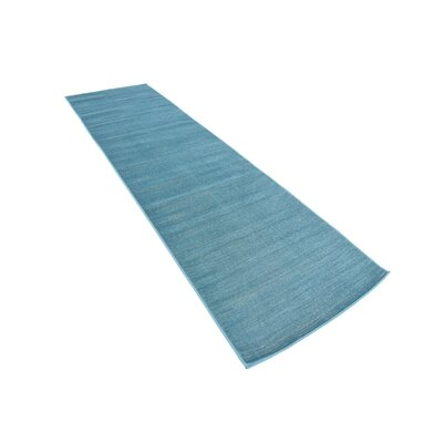 Bayswater Teal Area Rug Rug Size: Runner 29 x 91