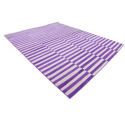 Braxton Purple Area Rug Rug Size: 8 x 10