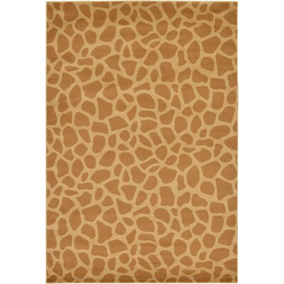 Leif Hand-Tufted Yellow Area Rug Rug Size: 6 x 9