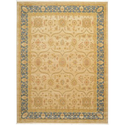 Fonciere Cream Area Rug Rug Size: Rectangle 8 x 112