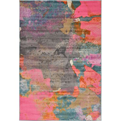 Cherry Street Pink Area Rug Rug Size: 6 x 9