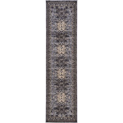 Valley Gray Area Rug Rug Size: Runner 27 x 10