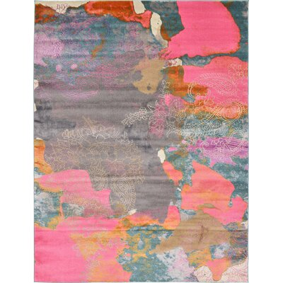 Cherry Street Pink Area Rug Rug Size: Rectangle 9 x 12