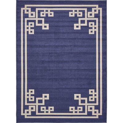 Gedrie Dark Blue Area Rug Rug Size: 10 x 13