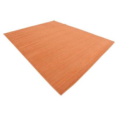 Risley Orange Area Rug Rug Size: Rectangle 8' x 10'