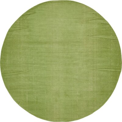 Risley Green Area Rug Rug Size: Round 8
