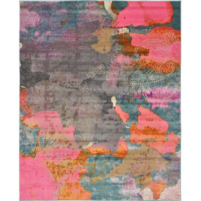 Cherry Street Pink Area Rug Rug Size: Rectangle 8 x 10