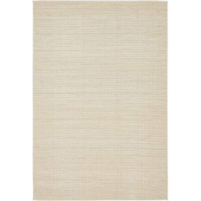 Bayswater Beige Area Rug Rug Size: Rectangle 6 x 9