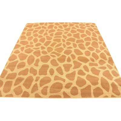 Leif Hand-Tufted Yellow Area Rug Rug Size: Square 6