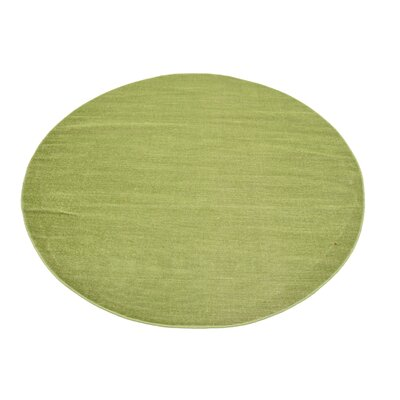 Risley Green Area Rug Rug Size: Round 5