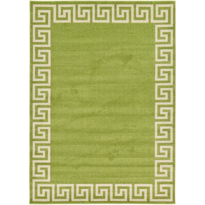 Gedrie Light Green Area Rug Rug Size: 7 x 10