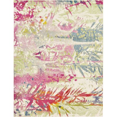 Mora Ivory Area Rug Rug Size: Rectangle 8 x 10
