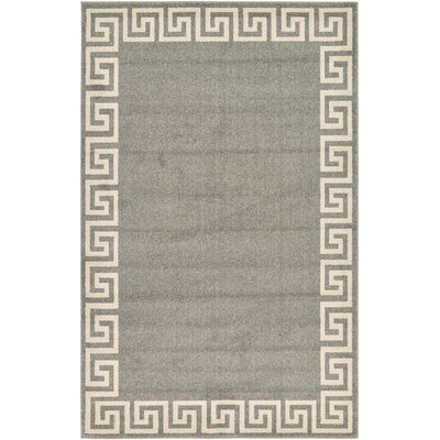 Cendrillon Gray Area Rug Rug Size: Rectangle 5 x 8