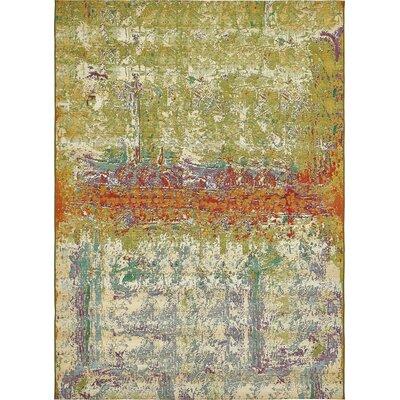 Mandy Green Indoor/Outdoor Area Rug Rug Size: Rectangle 8 x 114