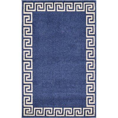 Cendrillon Blue Area Rug Rug Size: 33 x 53