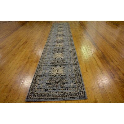 Valley Gray Area Rug Rug Size: Runner 3 x 16
