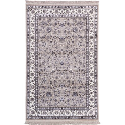 Essehoul Taupe Area Rug Rug Size: 5 x 8