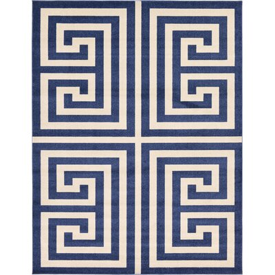Ellery Blue Area Rug Rug Size: Rectangle 9 x 12