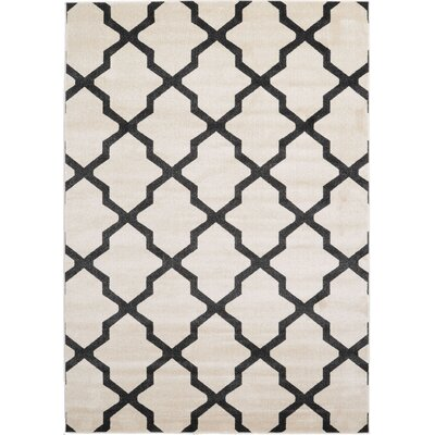 Moore Beige Area Rug Rug Size: Rectangle 7 x 10
