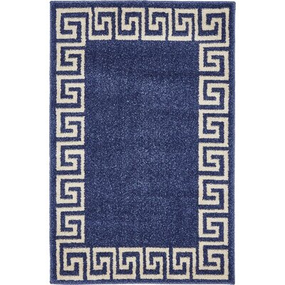 Cendrillon Blue Area Rug Rug Size: Rectangle 22 x 3