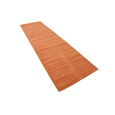 Risley Orange Area Rug Rug Size: Runner 29 x 91
