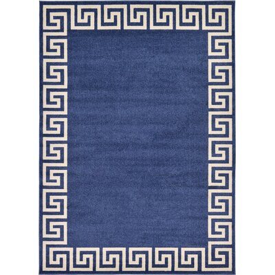 Cendrillon Blue Area Rug Rug Size: Rectangle 7 x 10