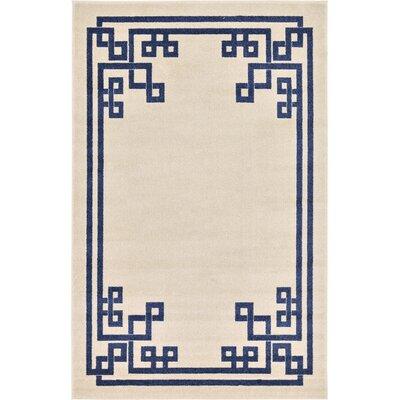 Ellery Beige Area Rug Rug Size: Rectangle 5 x 8
