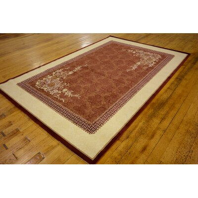 Jennie Burgundy Area Rug