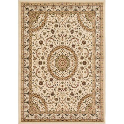 Astral Cream Area Rug Rug Size: 7 x 10