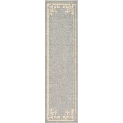 Ellery Gray Area Rug Rug Size: Runner 27 x 10