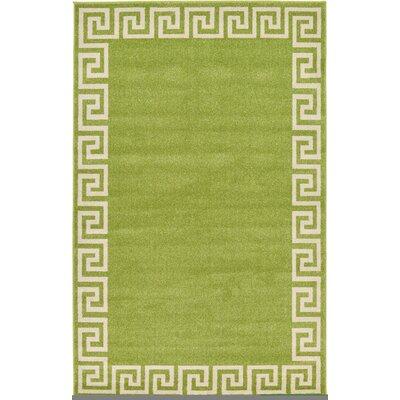Cendrillon Light Green Area Rug Rug Size: Rectangle 5 x 8