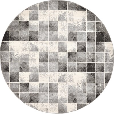 Jaina Light Gray Area Rug Rug Size: Rectangle 5 x 8