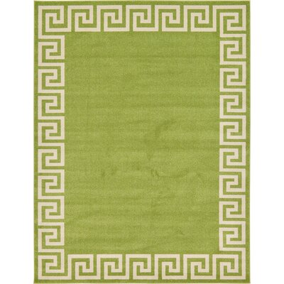 Gedrie Light Green Area Rug Rug Size: 9 x 12