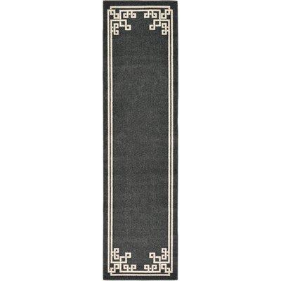 Ellery Black Area Rug Rug Size: Runner 2'7
