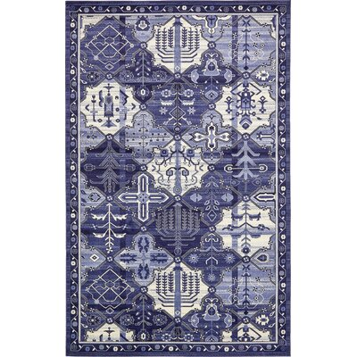 Irma Blue Area Rug Rug Size: Rectangle 10 x 16