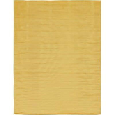Risley Gold Area Rug Rug Size: Rectangle 9 x 12