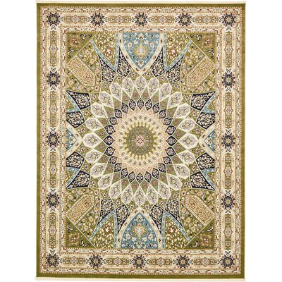Jackson Green Area Rug Rug Size: Rectangle 3' x 5'