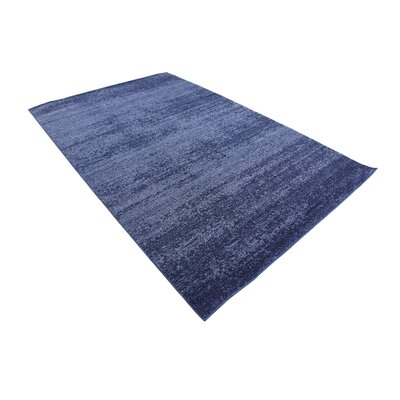 Wyble Blue Area Rug Rug Size: 5 x 8